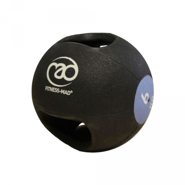 Med Ball 6Kg Dbl - Grip