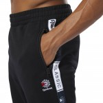CLASSICS FRENCH TERRY TAPED PANTS - SVARTAR